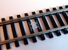 Train Protection Warning System: Buffer Stop Grids 3d printed Fitted to Hornby Track