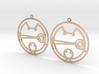 Camesha - Earrings - Series 1 3d printed