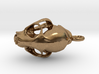 Mountain Lion Puma skull pendant (vertical loop) 3d printed