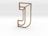 J Typolygon 3d printed