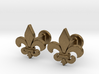 'Firenze' (fleur de lys) Cufflinks 3d printed