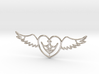 Lovebird Necklace 3d printed