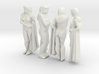 classic female statue 4 views 3d printed