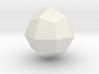 Deltoid icositetrahedron 3d printed
