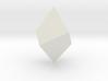 Trigonal trapezohedron 3d printed