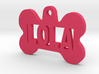 Bone Pet ID Tag - Lola 3d printed