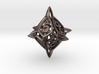 'Center Arc' dice, D10 balanced gaming die 3d printed