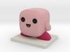Kirby Figure 3d printed