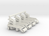 1/64 Row Incorporator Bed Conditioner, Set of 4 3d printed