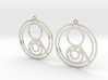 Lena - Earrings - Series 1 3d printed