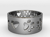 I Love My Dog Ring Ring Size 7 3d printed