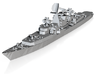 1/700 Soviet Kresta 2 class cruiser 3d printed