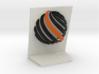 Spartatek 3D Logo 3d printed Back view- Full Color Sandstone
