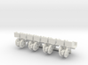 1/64 Transplanter with plant bins, set of 4 3d printed