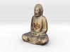 Textured Buddha: dawn sky. 3d printed