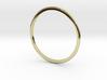 "Ring 'Subtle' - 16.5cm / 0.65"" - Size 6 3d printed"