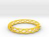 Twist Bangle A03L 3d printed