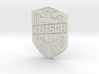 Kutsch Badge 3d printed