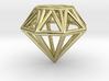 Diamond pendant   necklace   bracelet 3d printed