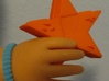 "Doll Pretend Handheld Video Game System - Star 3d printed Shown with a ""Texas Girls"" doll."