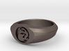 MTG Mountain Mana Ring (Size 10) 3d printed