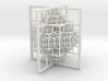 Beamed Octahedron Fractal 3d printed