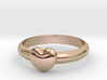 HEART RING - Size 19.5 mm (Dutch) / Size 9.5 (US/C 3d printed