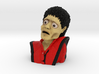 Michael Jackson Thriller Caricature Bust 3d printed