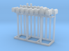 Mailbox Residential Collection O Scale 3d printed