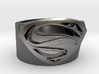 Superman Ring - Man Of Steel Ring Size US 7 3d printed