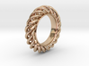 Spiral Ring Size 7 3d printed