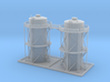 Double Storage Tanks Z Scale 3d printed
