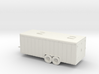 1/87  Enclosed Trailer 3d printed