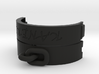 Handcuff bracelet customizable 3d printed