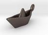 Mini Paperboat Keyring 3d printed