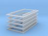 1/87 Rahmen für verschiebbare Sattelkupplung 5er 3d printed