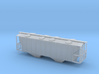 100 Ton Two Bay Covered Hopper - Nscale 3d printed