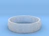 Moon Ring V3 RS11.5 Ring Size 11.5 3d printed
