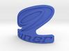 Niner bicycle front logo 3d printed