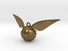 The Golden Snitch pendant 3d printed