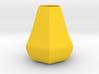 Bulky honeycomb vase 3d printed
