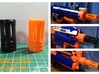 Nerf birdcage muzzle  3d printed