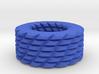 Shapes pattern bracelet 3d printed