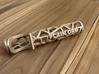 Cracking Ice Bottle Opener 3d printed Personalized name