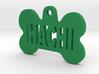 Bone Pet ID Tag - Hachi 3d printed