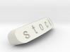 Stocki Nameplate for Steelseries Rival 3d printed