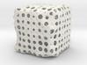 Dendritic Ornament, Cube no.1 3d printed