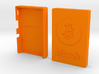 Case for Rasperry Pi 2, 3 or B+ with Bitcoin logo 3d printed