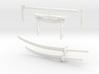 Samurai's Weapons Set 3d printed