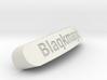Blaqkmagic Nameplate for Steelseries Rival 3d printed